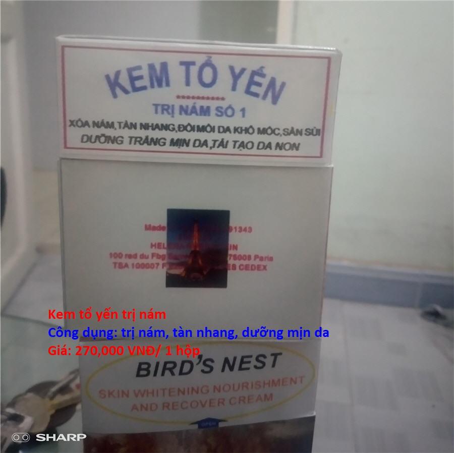 Kem tổ yến trị nám | Kem tổ yến Bird's Nest